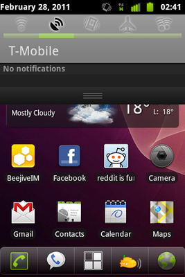 Screenshot of my Android handset showing T-Mobile network identification.