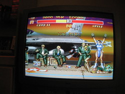 Chun-Li victory in Street Fighter 2 Special Champion Edition.